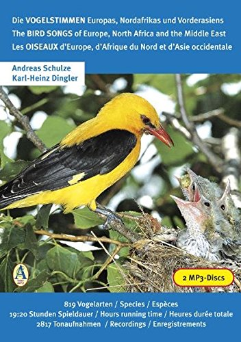 Read Online The Bird Songs of Europe, North Africa and the Middle East pdf epub