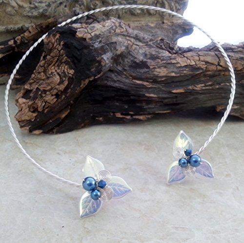 Woodland Triquetra Torc Necklace