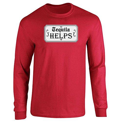 Pop Threads - Camiseta - para hombre Rosso