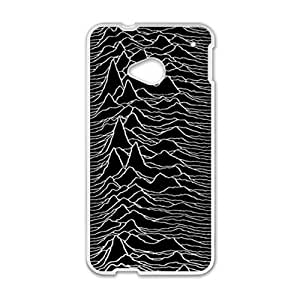 DAZHAHUI Black Style Cell Phone Case for HTC One M7