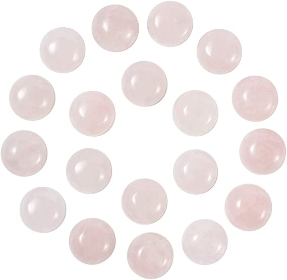 30x10 MM Rectangle Shape Rose Quartz Cabochon Rose Quartz Gemstone Shape Cabochons 8 Pc Natural Pink Rose Quartz Pencil Shape Cabochons