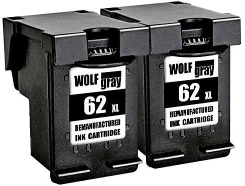 Wolfgray 62XL Remanufacturado para HP 62 XL 62 Cartuchos de Tinta ...
