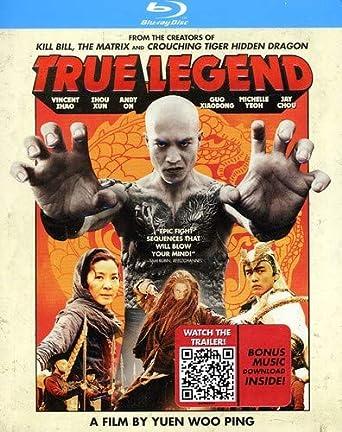 Amazon com: True Legend [Blu-ray]: Zhou Xun, Vincent Zhao