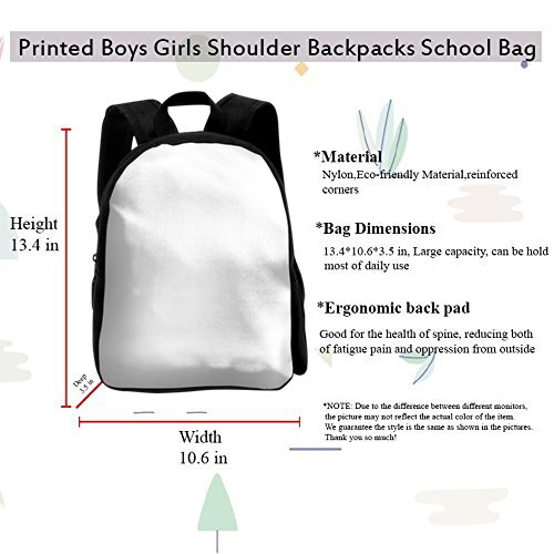 Amazon.com | SARA NELL Kids School Backpack Tractor Boys Girls Bag | Kids Backpacks