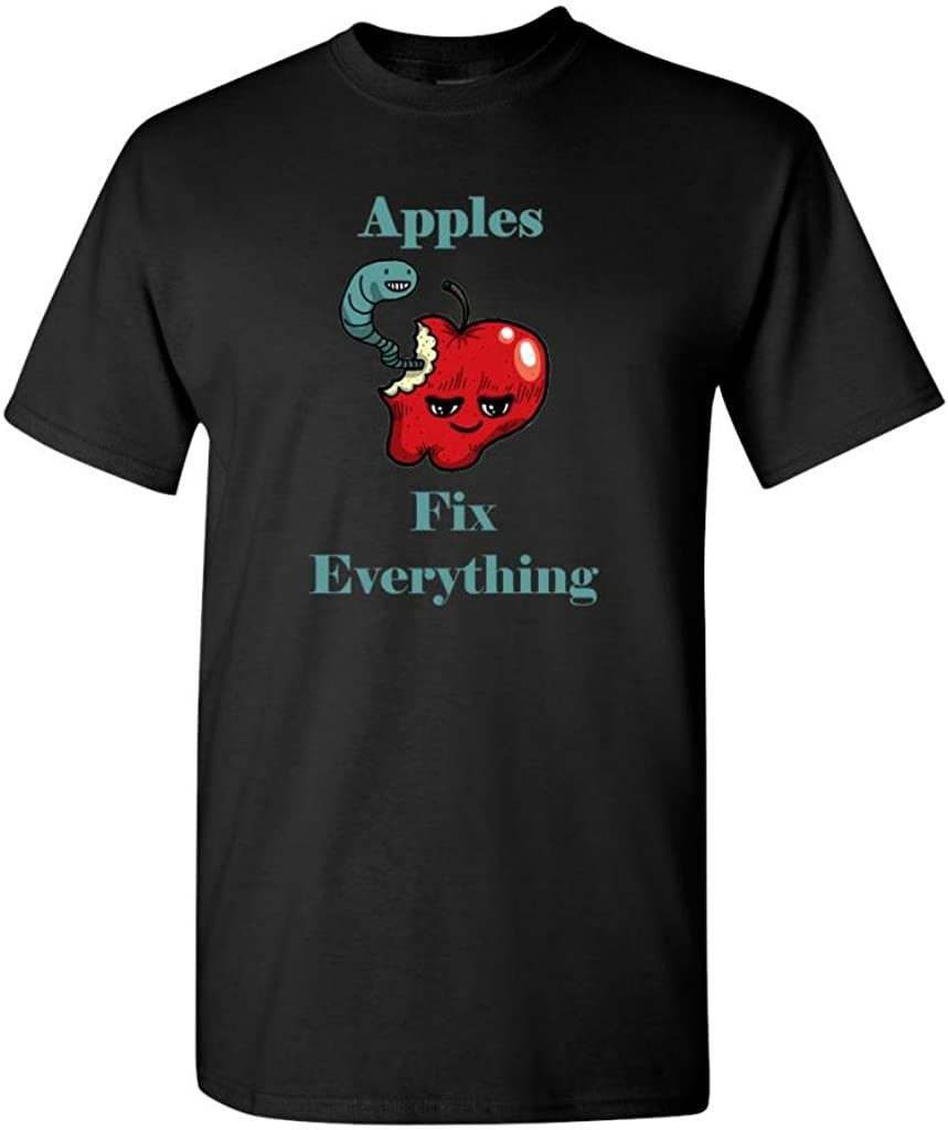 Apples Fix Everything Adult DT T-Shirts Tee