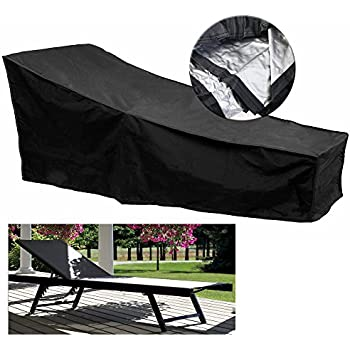 Charming Fellie Cover 82 Inch Patio Chaise Lounge Covers, Durable Outdoor Chaise  Lounge Covers Water