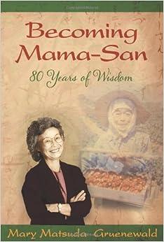 Book Becoming Mama-San: 80 Years of Wisdom