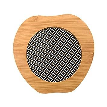 Amazon De Aapp Shop Haushalt Bambus Holz Tischset Anti Hot Pad