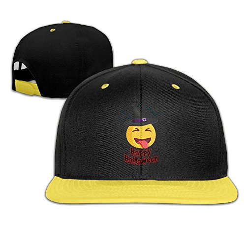 Mr Xionghua Child Happy Halloween Smiley Face Wizard Hat and Hip Hop Baseball Cap Boy Girls