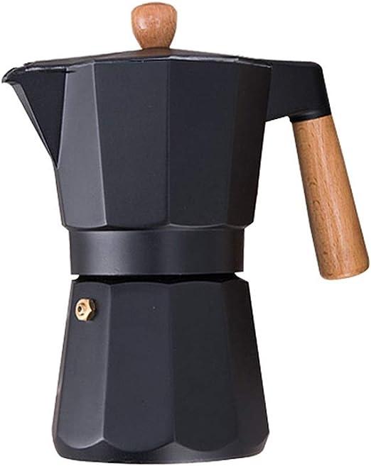 Cafetera Metal Acero Inoxidable Grueso Concentrado de Calor ...