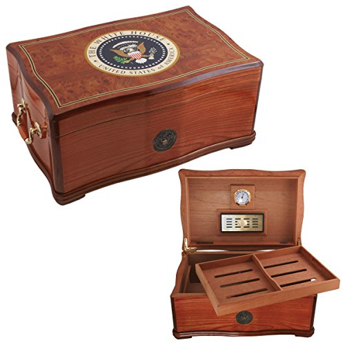 House Humidor (New White House Cigar Humidor Box American Emblems Limited Editon)