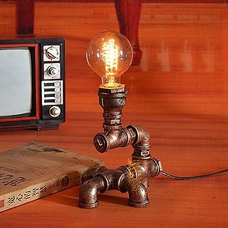 Aiehua Super Mini Edison Tubo de Agua Lámpara de Mesa Escritorio ...