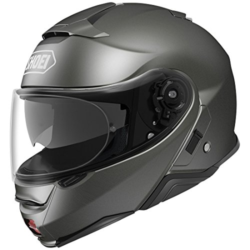 Shoei Neotec II Flip-Up Motorcycle Helmet Anthracite Small (Additional Size and Colors) -  Shoei Helmets, 0116-0117-04-MOT