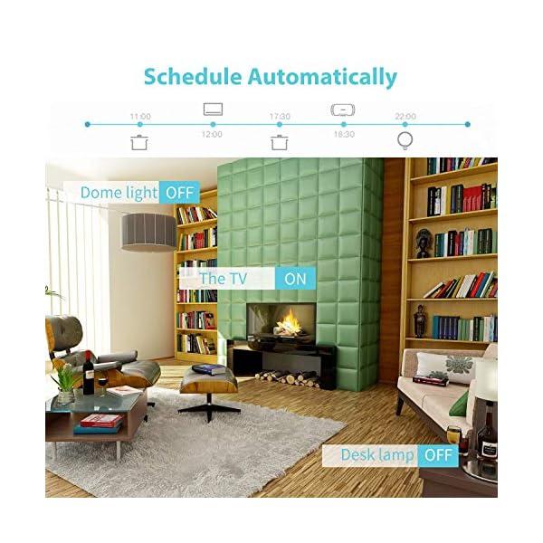 Presa Intelligente Wifi Smart Plug Spina Wireless 16A 3680W, Funzione Timer, Compatible con SmartThings, Alexa, Google… 3 spesavip