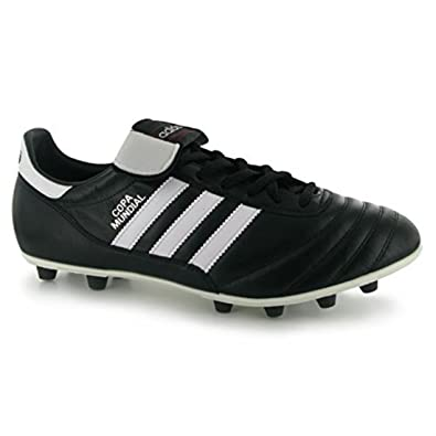 best authentic e21a0 cc236 adidas Mens Copa Mundial FG Football Boots Training Shoes Lace Up Sport  BlackWhite UK 12.5(48) Amazon.co.uk Clothing