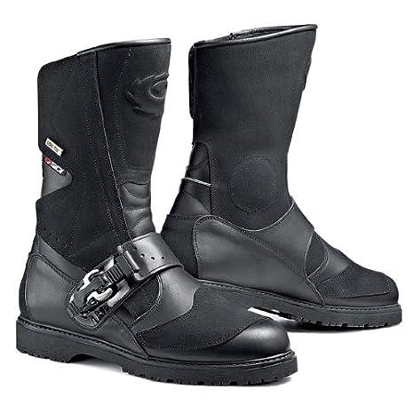 Motorcycle Sidi Canyon Boots Microfibre GTX Black 47 UK SELLER 8017732493866