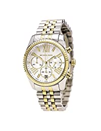 Michael Kors Women's Lexington MK5955 Silver Stainless-Steel Quartz Watch