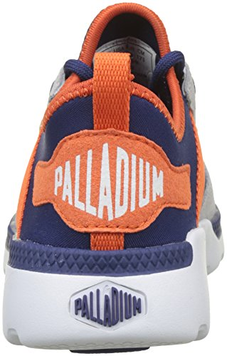 Palladium Pallaville Low RS Enfant, Zapatillas Unisex Niños Azul (Twilight Blue/flame N89)