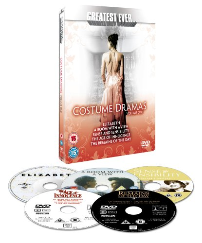 Greatest Costumes Ever (Greatest Ever... Costume Dramas - Vol1 [Steelbook] [Import anglais])