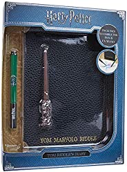 WOW! Stuff Collection Harry Potter Tom Riddle's Diary Notebook, Slytherin House Pen, &