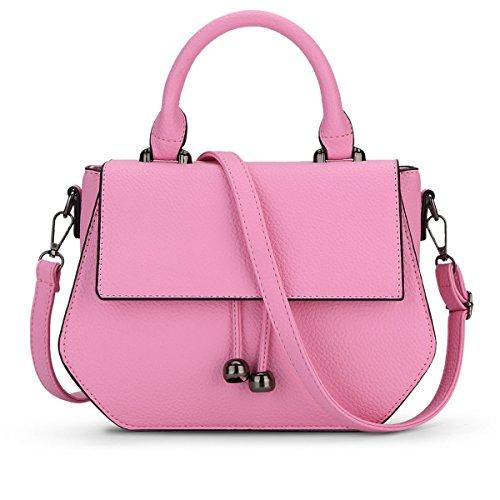 E-girl Shoulder Bag Plastic Womens Pink One Size