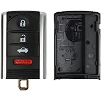 Replacement Keyless Remote Fob Key Shell Case For 2009 2010 2011 2012 2014 Acura TL M3N5WY8145