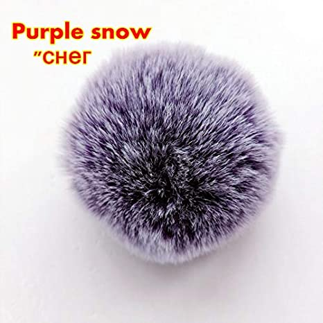 Amazon.com : Key Chains - Simple Key Chain Fur Ball Pompon ...