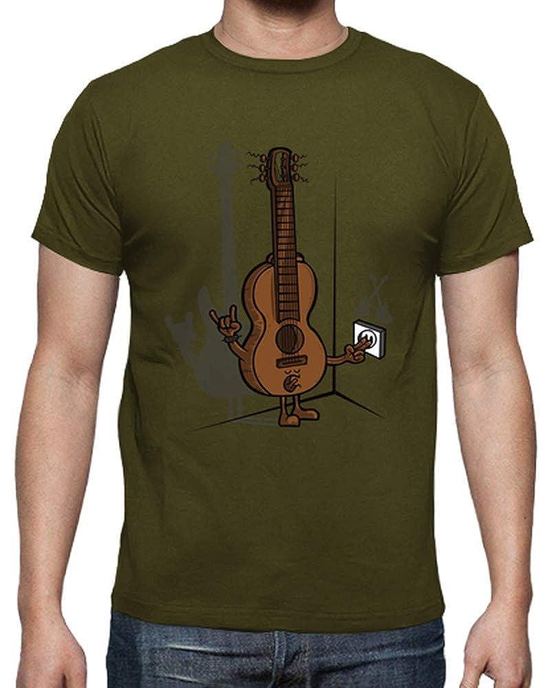 latostadora Camiseta Guitarra eléctrica 2 - Camiseta Hombre clásica: ibaitxo: Amazon.es: Ropa y accesorios