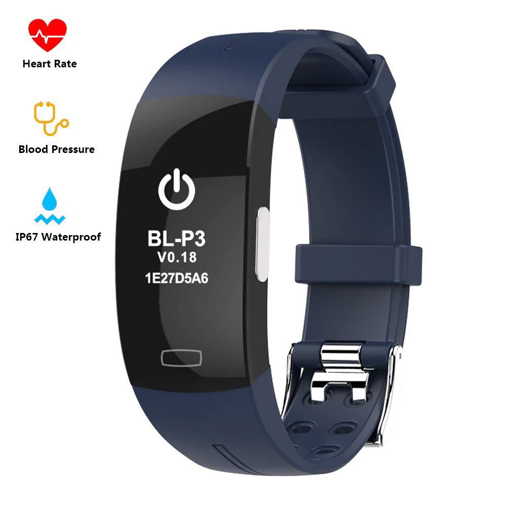 Fitness Tracker ECG+PPG Heart Rate Monitor Blood Pressure, Sleep Monitoring Smart Bracelet IP67 Waterproof Smart Wearable Wristband Activity Track Pedometer