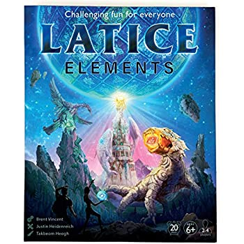 Latice Elements Strategy Board Game (Value Edition)