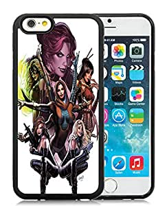 New DIY Personalized X-Men Uncanny 03 iPhone 6 6th Generation 4.7 Inch Black Phone Case CR-697