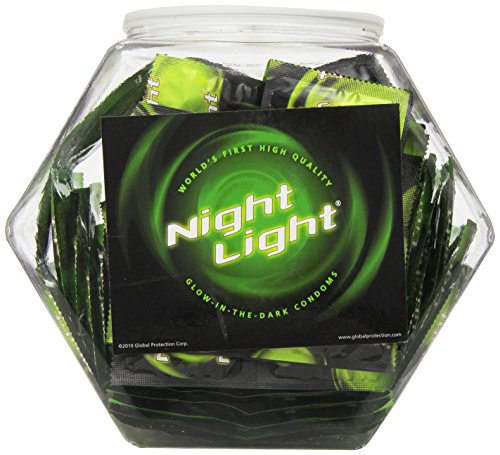Hott Products Night Light Condoms Fish Bowl Display, 144 Count by Hott Products