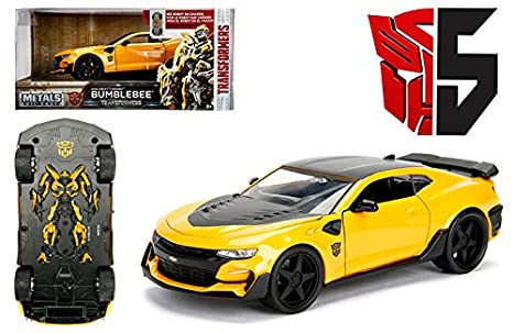 Amazon.com: NEW 1:24 W/B JADA METALS TRANSFORMERS - BUMBLEBEE ... on change one step transformers, 1967 camaro transformers, dodge camaro transformers, realistic transformers, 1968 camaro transformers, shockwave transformers, off road car in transformers, camaro in transformers, hound transformers, audi r8 transformers, rally fighter transformers, attinger transformers, gmc topkick transformers, chevrolet tahoe police transformers, black and yellow camaro transformers, jazz transformers, the fallen transformers, 2010 camaro bumblebee transformers, black cars in transformers, dodge challenger transformers,