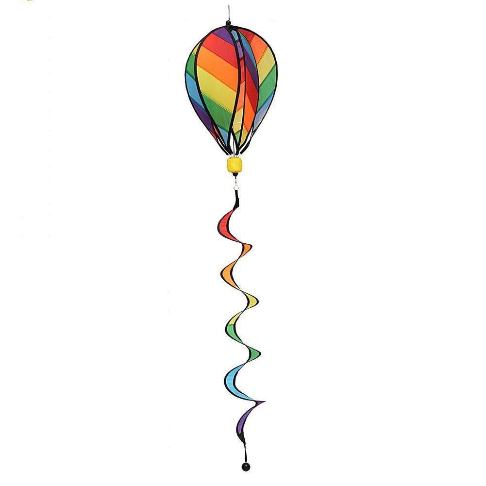 ladaidra Wind B07214Q7KJ ladaidra Spinner Wind、火災バルーン3dストライプカラフルHanging Decor Houseファームのヤード B07214Q7KJ, 鈴木バラ園芸:3353eac7 --- artmozg.com