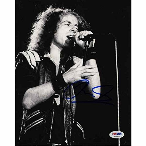 Klaus Meine 'Scorpions' Signed 8x10 Photo Certified Authentic PSA/DNA COA