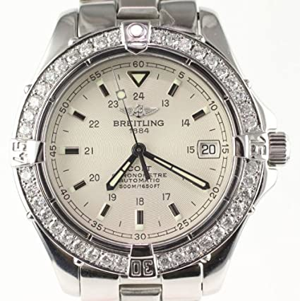 Amazon.com: Custom Breitling Aeromarine Colt Automatic A17350 Mens Watch - Pre-owned: Watches