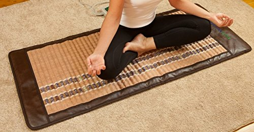 HealthyLine Infrared Heating Mat - Pain Relief Sore Muscles, Arthritis and Injury Recovery (Soft & Flexible, Full-Body) 74″ x 28″| Natural Amethyst, Jade & Tourmaline Ceramic | ​​US FDA by HealthyLine (Image #5)
