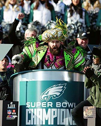 first rate 907ef dc784 Philadelphia Eagles Jason Kelce Super Bowl 52 Champion 8x10 Photo, Picture