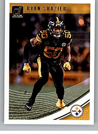 9667b72b07f 2018 Donruss Football  244 Ryan Shazier Pittsburgh Steelers Official NFL  Trading Card