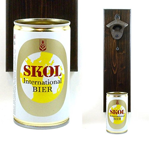 skol-international-bier-wall-mounted-bottle-opener-with-a-vintage-imported-beer-can-cap-catcher