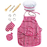 Deluxe Kids Chef Set - Little Chef Role Play 11 Piece Set