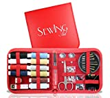 Sewing Aid kit contains the correct balance of essentials for facing sewing emergencies This lightweight and portable kit comes with absolutely everything you'll ever need to be prepared for any sewing emergency that could possibly arise:- 10...