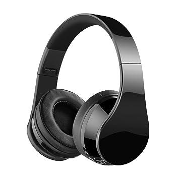 Auriculares Bluetooth, auriculares Matoa Bluetooth sobre el oído, auriculares estéreo inalámbricos Hi-Fi