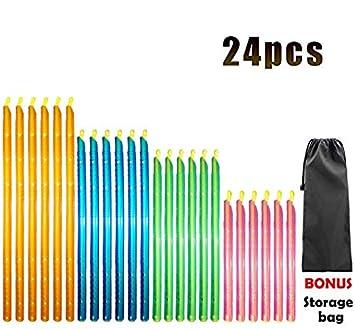 Amazon.com: [24 piezas] Sellador de bolsas clips de sellado ...