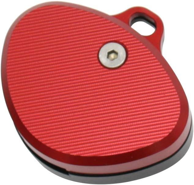 Carrfan Motocicleta CNC Llavero de Aluminio Shell Key Protecter Decoraci/ón Reemplazo de la Caja para BMW F650 F800 F800GS F800ST K1200R K1200S F1200GS R1200RT K1300R K1300S S1000RR