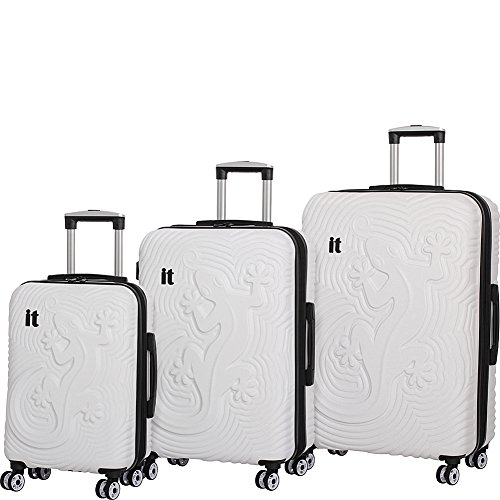 it-luggage-lizard-hardside-8-wheel-3-piece-set-white