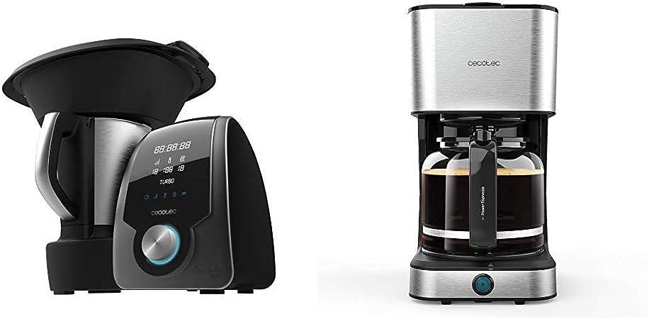 Cecotec Robot de Cocina Multifunción Mambo 7090 + Cafetera Goteo Coffee 66 Heat: Amazon.es: Hogar