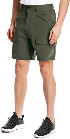 Toomett Mens Outdoor Lightweight Hiking Shorts Quick Dry Shorts Sports Casual Shorts