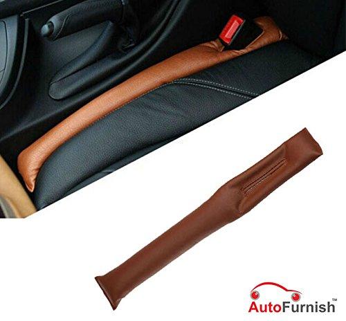 Autofurnish Universal Leatherite Car Seat Gap Spacer Filler Padding (Set of 2) Tan product image