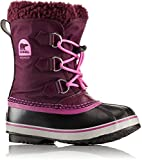 Sorel Girls' Childrens Yoot Pac Nylon, Purple